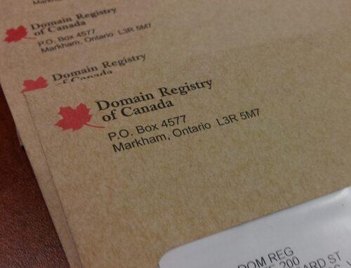 Domain Registry of Canada Scam